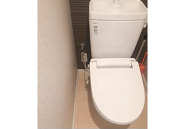 ①トイレ全体を入れる・給水位置を入れる・手洗いの有無を入れる・床の状態を入れる・コンセントを入れる