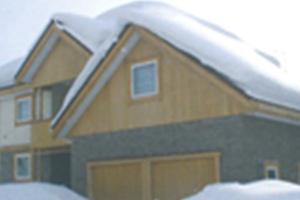 雪止め対策も万全。落雪しにくい、など激しい「全天候耐久性テスト」をクリア