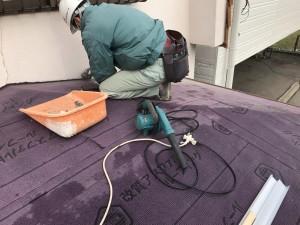 内灘町屋根葺き替え工事