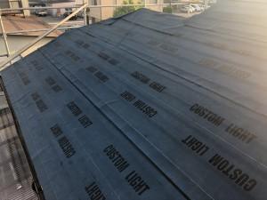 白山市屋根葺き替え工事