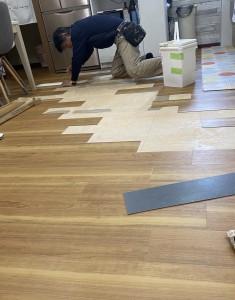 金沢市S様邸床改修工事