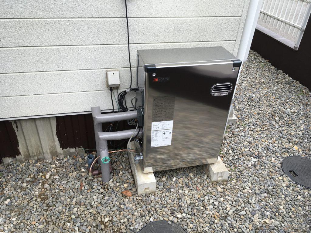 【石川県】粟崎町石油給湯器交換工事