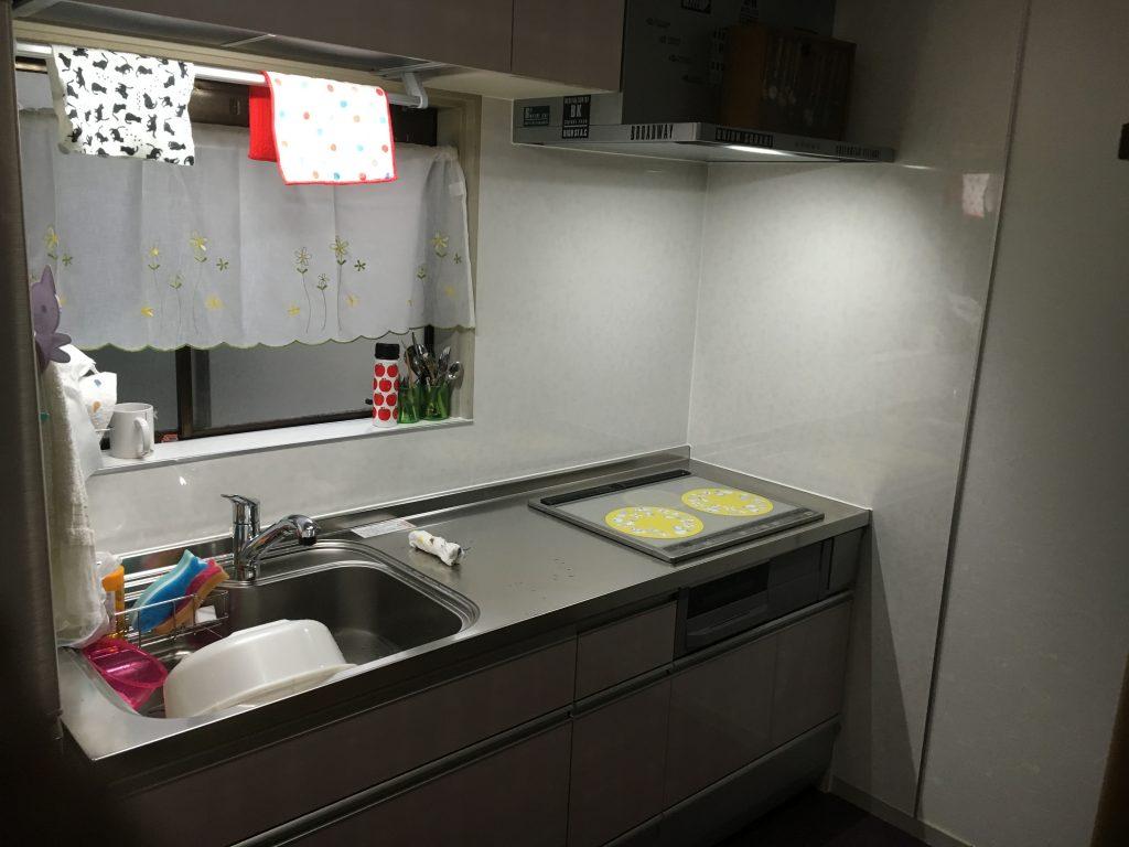 金沢市黒田 N様邸キッチン入れ替え工事